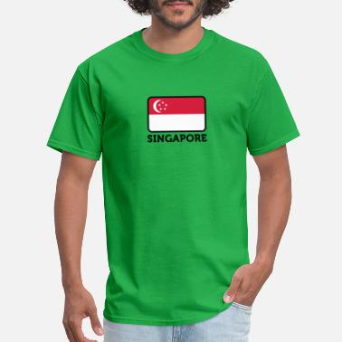Flag Of Singapore National Flag Of Singapore - Men's T-Shirt