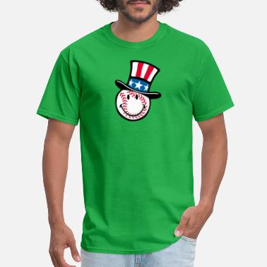 Baseball-hat SmileyWorld Baseball with America Hat - Men's T-Shirt