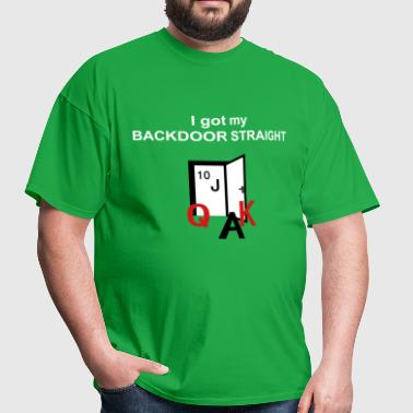 backdoor straight - Men's T-Shirt