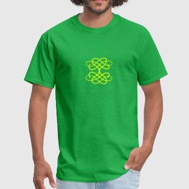 swirls (1c) - Men's T-Shirt