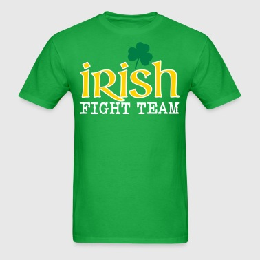 irish fight team - Men's T-Shirt