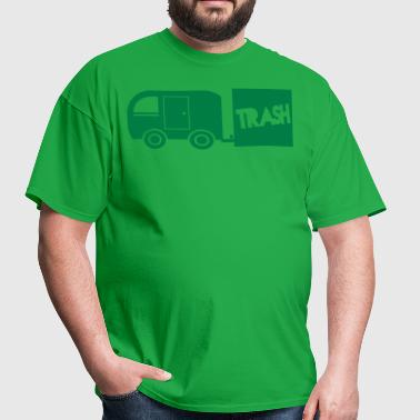 trailer trash towing cargo  - Men's T-Shirt