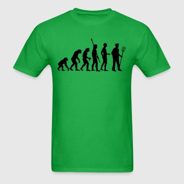 evolution_bauer_b - Men's T-Shirt