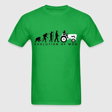 evolution_bauer_mit_treaktor_032013_a_2c - Men's T-Shirt