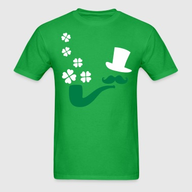 Irish man shamrocks - Men's T-Shirt