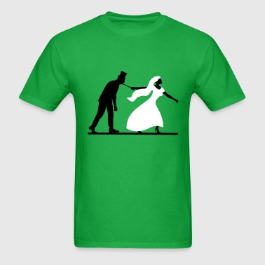 game over bride and groom wedding stag night - Men's T-Shirt