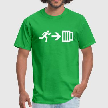 Emergency Exit Beer 02 - Men's T-Shirt