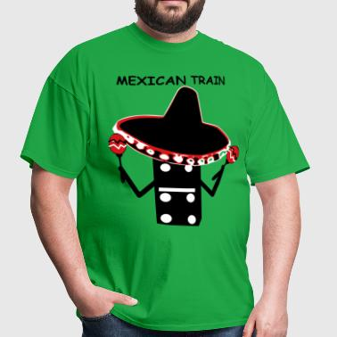 Mexican Train Sombrero - Men's T-Shirt