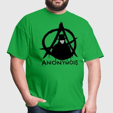 Anonymous Vendetta 2c - Men's T-Shirt