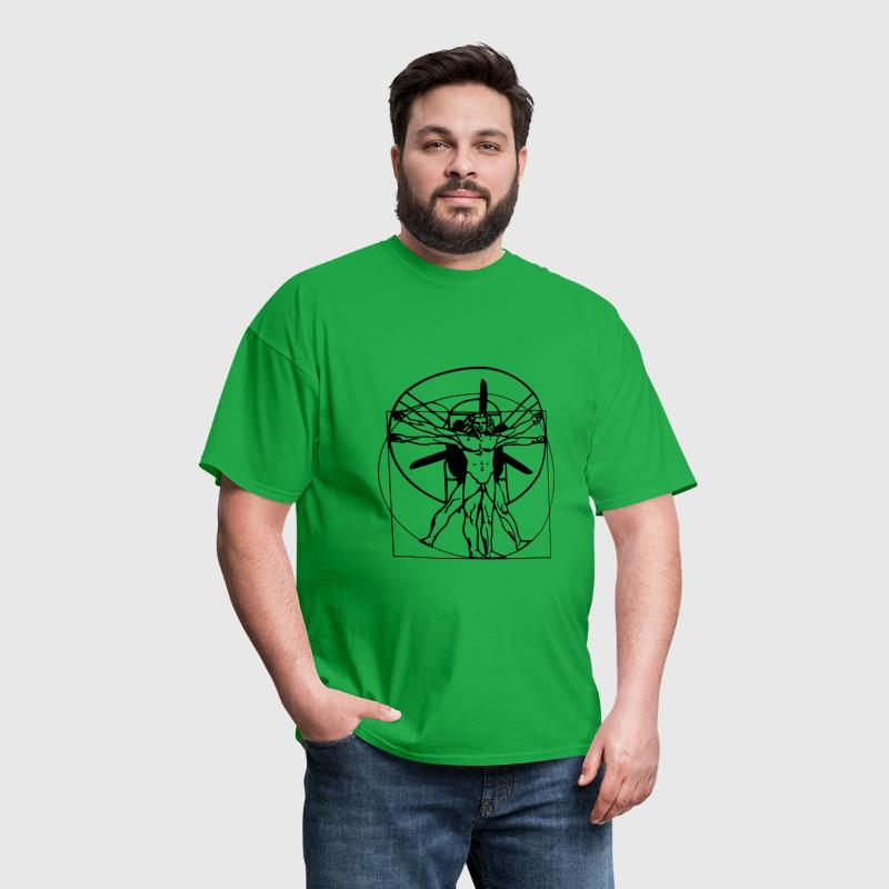 vitruvian Traval Mug - Men's T-Shirt