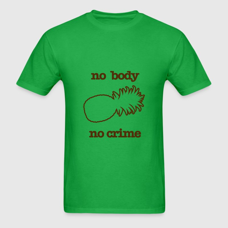 KCCO - NO BODY NO CRIME PSYCH - Men's T-Shirt