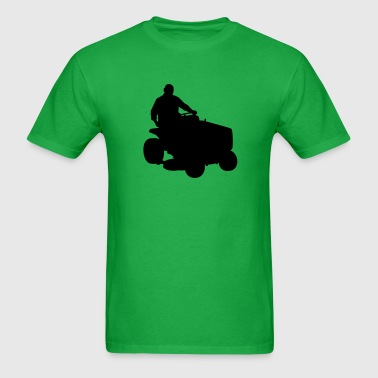 mowing lawn - Men's T-Shirt