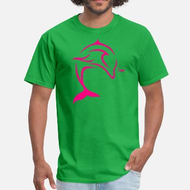 Pink Dolphin dolphin 9 - Men's T-Shirt