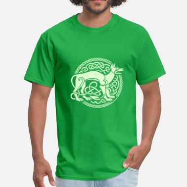 Book Of Kells Celtic Ornament - Men's T-Shirt
