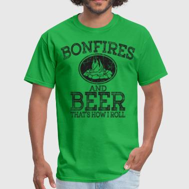 Bonfires And Beer - Men's T-Shirt