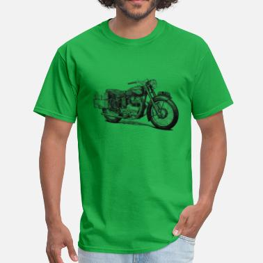 f33a87522 Royal Enfield Vintage Motorcycle T shirt - Meteor 700 - Men's T