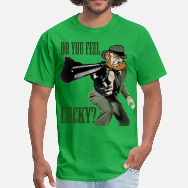 Dirty Harry Do You Feel Lucky? - Men's T-Shirt