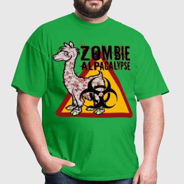 Zombie Alpacalypse - Men's T-Shirt