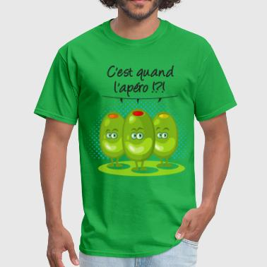 Apero Apéro ?!? - Men's T-Shirt