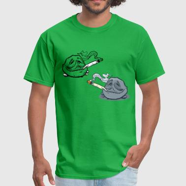 Two Stones Stoned - Men's T-Shirt