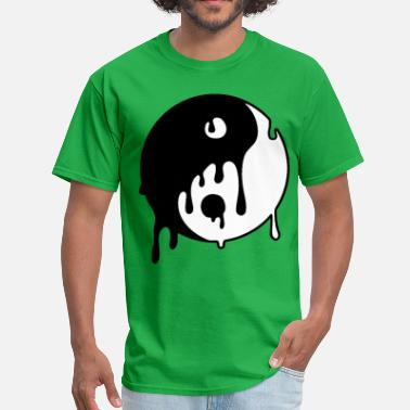 Stencil Philosophy YING TO THE YANG - Men's T-Shirt