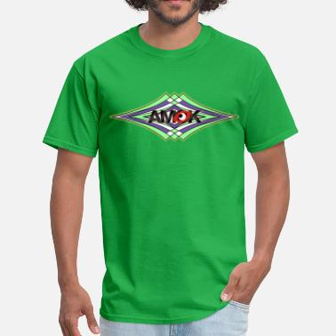 Amok amok - geometric waves - Men's T-Shirt