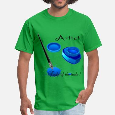 3d Artist Artist Tools of the trade 3D - Men's T-Shirt