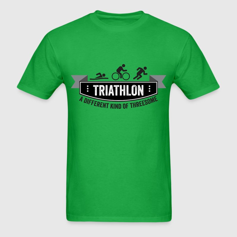 Triathlon – a different kind of threesome - Men's T-Shirt