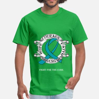 Fight Fight Cancer - Hope - Men's T-Shirt