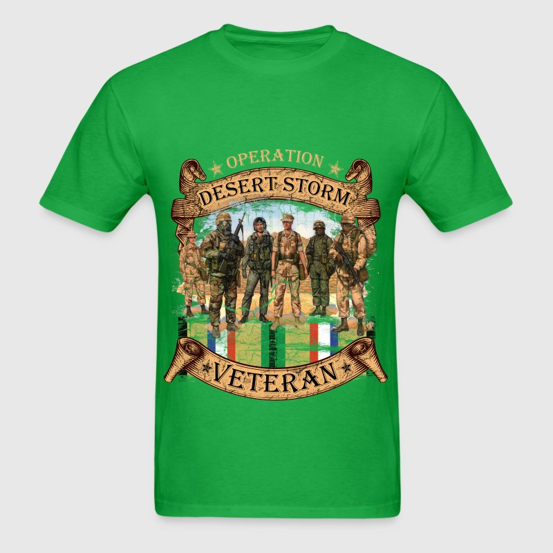 Veterans - Desert Storm - Men's T-Shirt