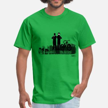 Dh Mtb MTB schizophrenia - Men's T-Shirt