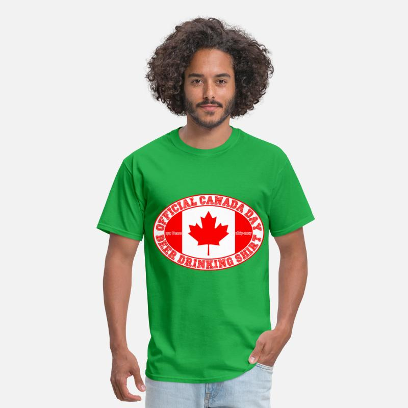 OFFICIAL CANADA DAY BEER DRINKING SHIRT 150 By Newfucious