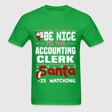 Accounting Clerk - Men's T-Shirt