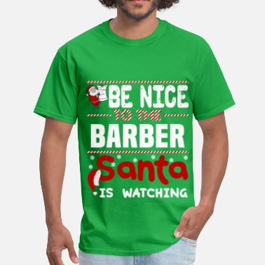 Barber Christmas Barber - Men's T-Shirt