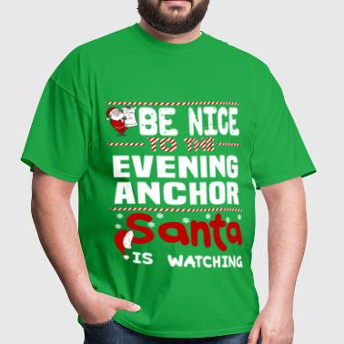 Evening Anchor - Men's T-Shirt