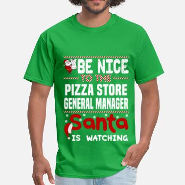 General Store Manager Funny Pizza Store General Manager - Men's T-Shirt