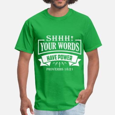 Word Power - Men's T-Shirt