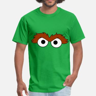 Oscar The Grouch Grouchy Eyes - Men's T-Shirt