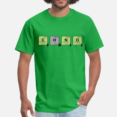 Crystalline caffeine - Periodic Element Scramble - Men's T-Shirt