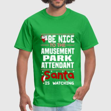 Amusement Park Attendant - Men's T-Shirt