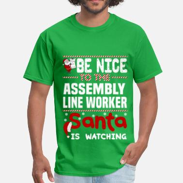 Assembly Line Worker Funny Assembly Line Worker - Men's T-Shirt