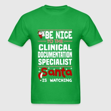 Clinical Documentation Specialist - Men's T-Shirt