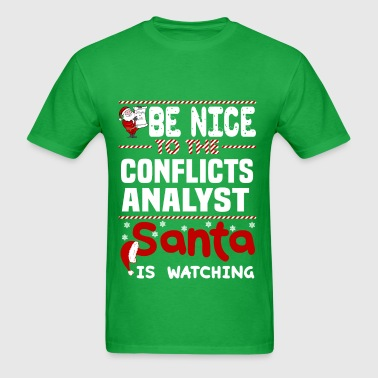 Conflicts Analyst - Men's T-Shirt