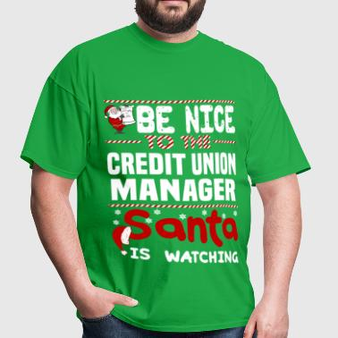 Credit Union Manager - Men's T-Shirt