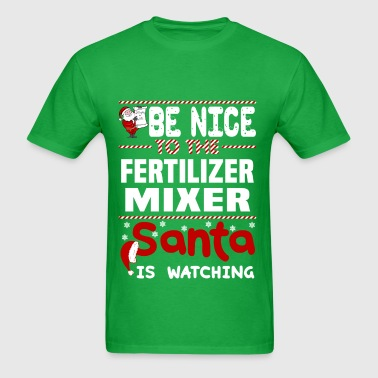 Fertilizer Mixer - Men's T-Shirt