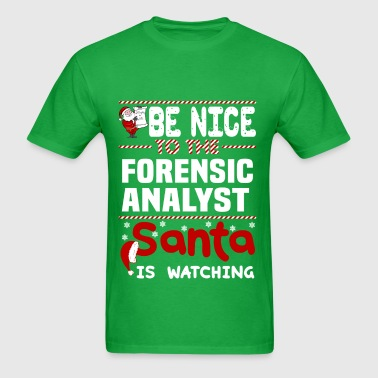 Forensic Analyst - Men's T-Shirt