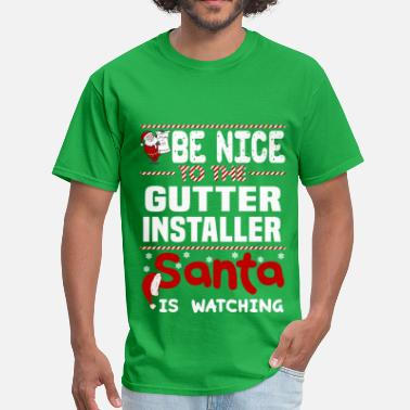 Gutter Ball Gutter Installer - Men's T-Shirt