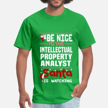 Intellectual Intellectual Property Analyst - Men's T-Shirt