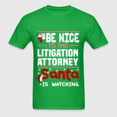 Litigation Attorney - Men's T-Shirt