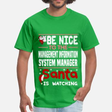 Information Systems Manager Apparel Management Information System Manager - Men's T-Shirt
